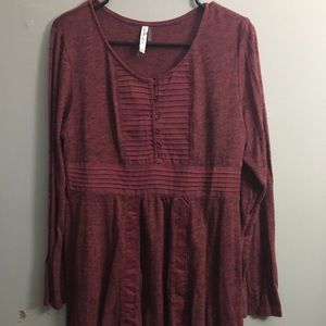 Mur Mur Long Sleeve Top